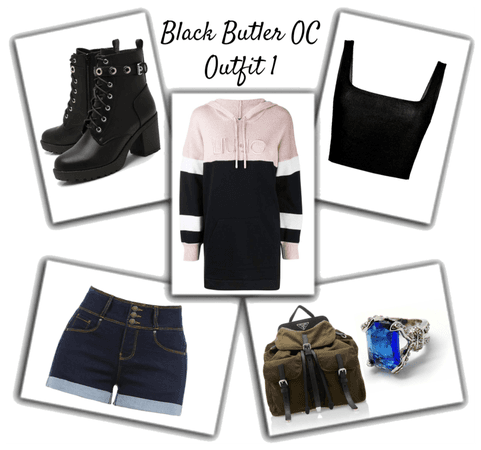 Black Butler OC Outfit 1
