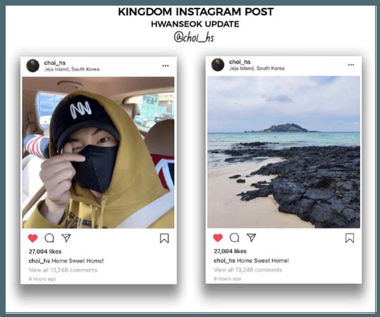 {KGDM}[Hwanseok] Official Instagram Post