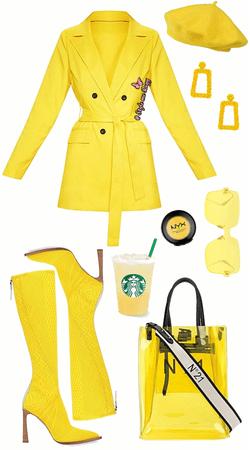 Yellow Monochromatic