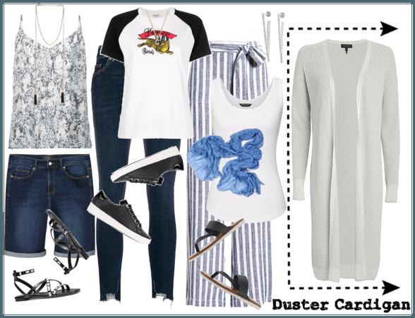 Focus: The Long Duster Cardigan