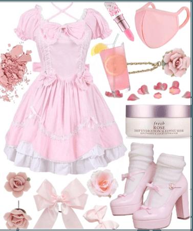 oc - pink pastels