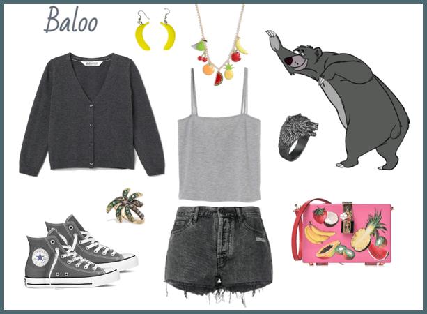 Baloo outfit - Disneyboundings