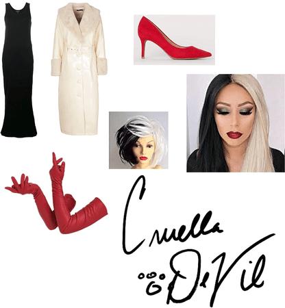 Cruella De Vil DisneyBounding