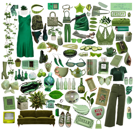 green!🥰💚💚