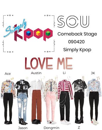 """Simply Kpop- SOU """"Love Me"""" 090420"""