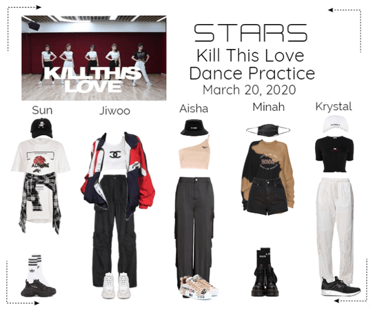 STARS | Kill This Love Dance Practice