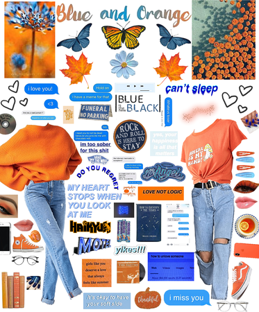 Blue and Orange!