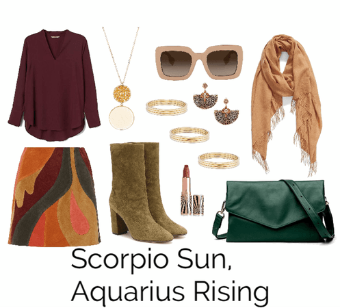 Scorpio Sun, Aquarius Rising
