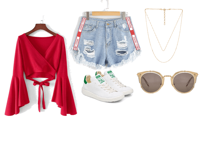 street red casual