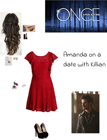 OUAT: Amanda on a date with Killian