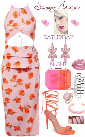 Sexy Maxi Saturday Night