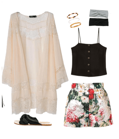Summer casual floral