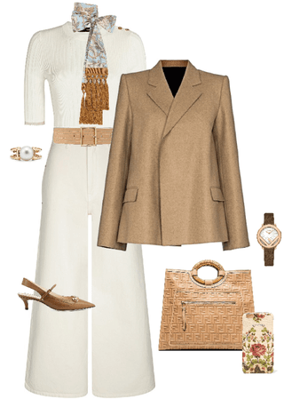 Camel blazer