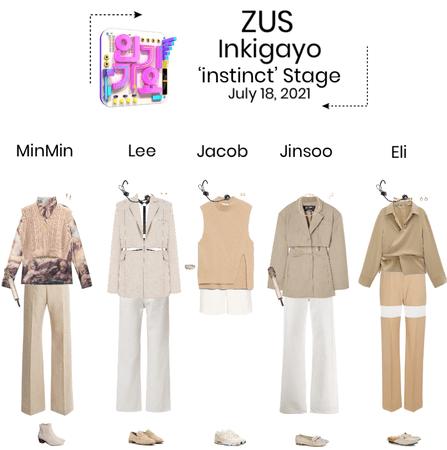 ZUS//'instinct' Inkigayo Stage