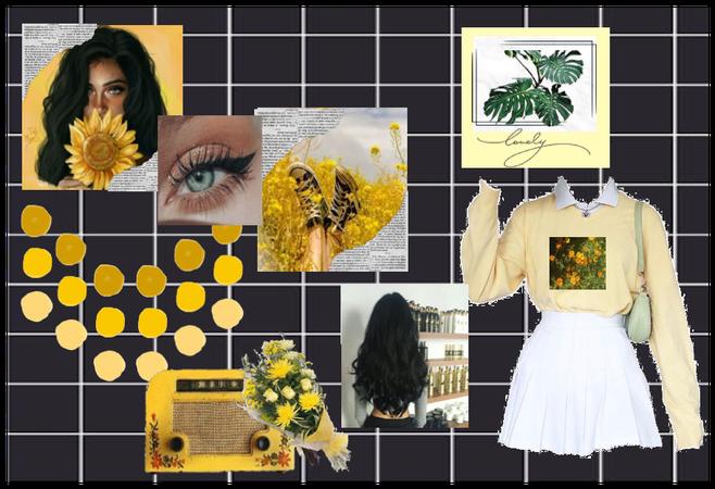 Yellow Flower Aesthetic.