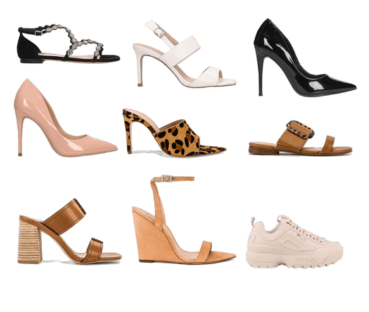 Capsule wardrobe  shoes