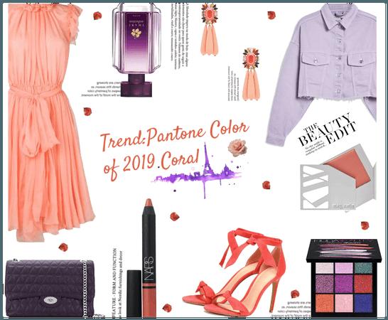 Trend: Pantone Color of 2019 Coral