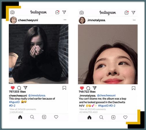 Bubblicious (신기한) [RAP LINE] Instagram Update