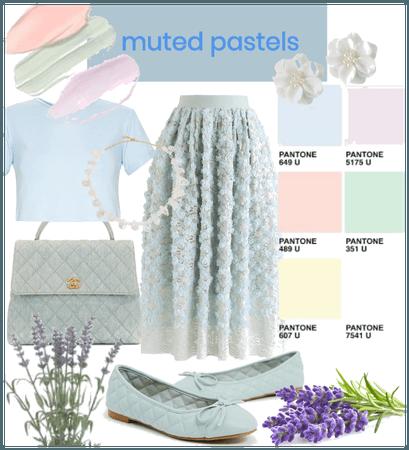 blue pastel style