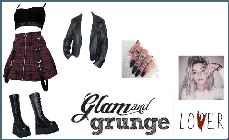 glam and grunge