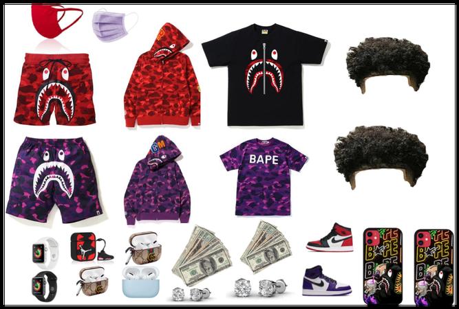 Boy bape