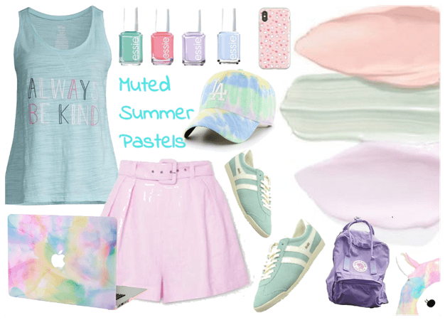 Muted Summer Pastels