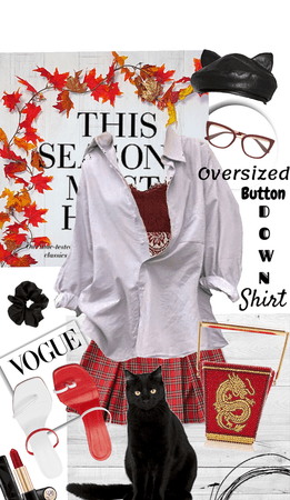 Oversized Button Down Shirt 🌺