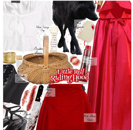 How to dress up as evil red for Halloween