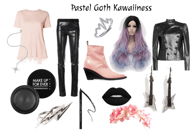 Pastel Goth Kawaiiness