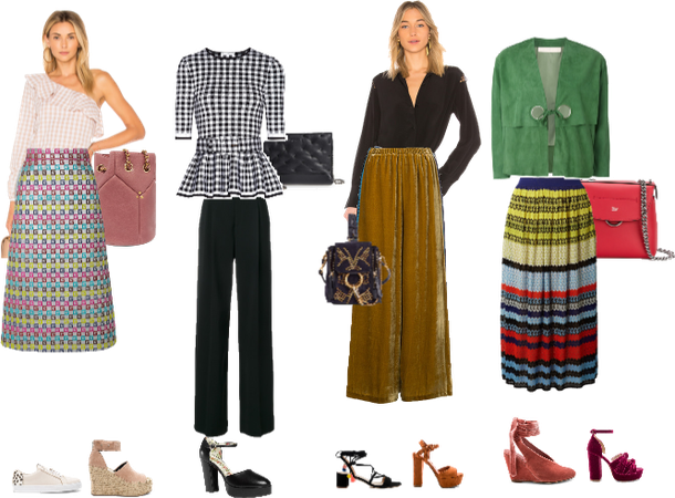 Looks for Inverted triangle