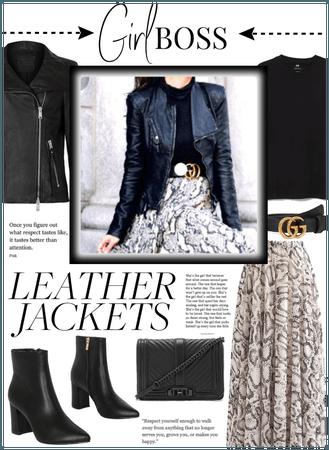 Leather jacket🖤