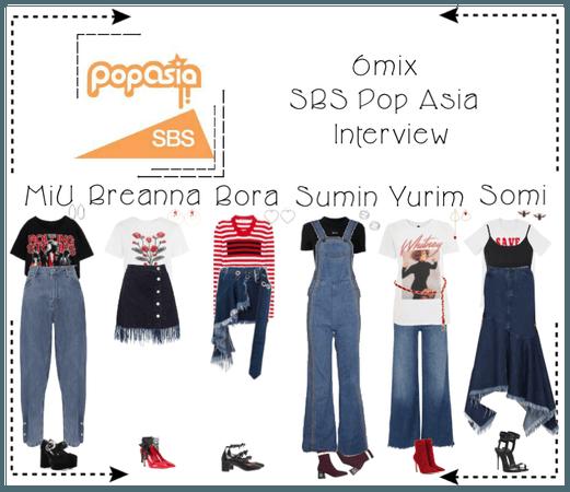 《6mix》SBS Pop Asia Interview