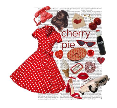cute as cherry pie