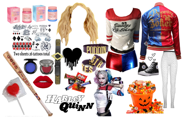 Halloween:Harley Quinn