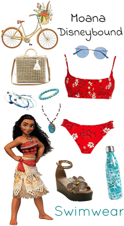 Moana Swimwear Disneybound