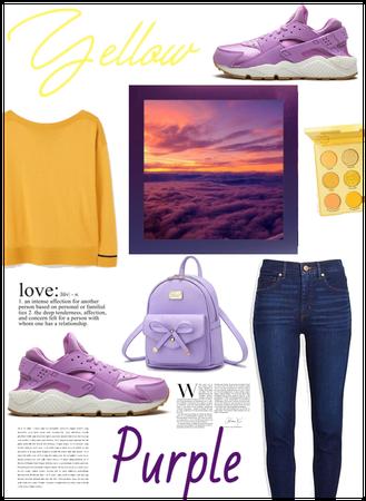 Yellow an Purple💛💜