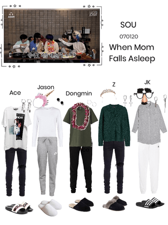 When Mom Falls Asleep- SOU