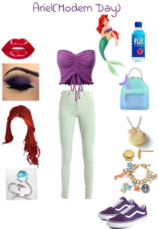 Ariel (The Little Mermaid) Modern Day
