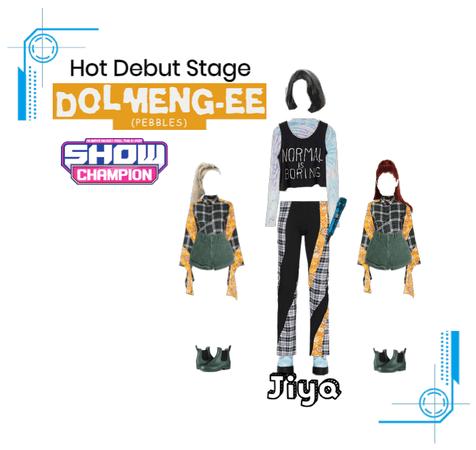 Hot Debut Stage Dolmeng-ee by Jiya | Show Champion