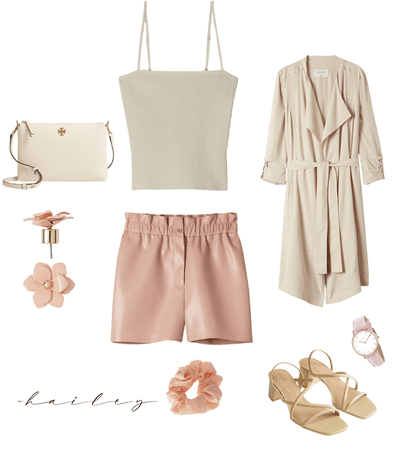 Spring Neutrals with 90s Vibe