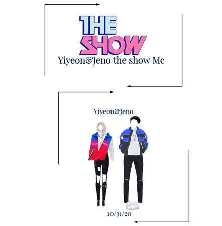 Yiyeon&Jeno The show Mc 10/31/20