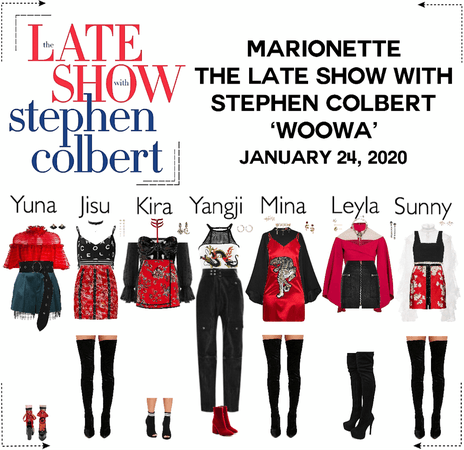 MARIONETTE (마리오네트) The Late Show With Stephen Colbert