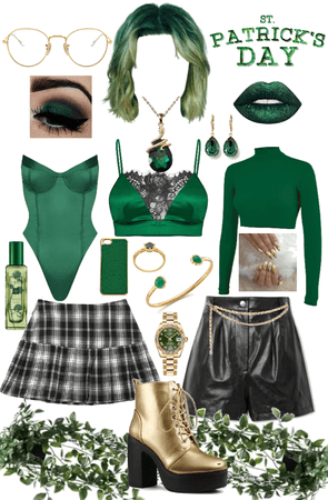 Saint Patrick's Day triple outfit