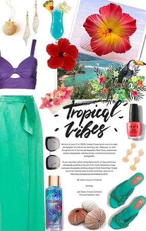 Little Mermaid goes to Tropics