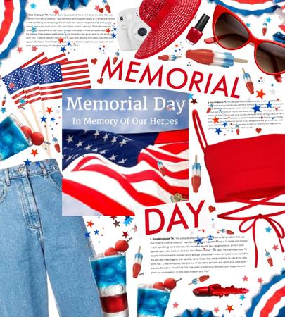 Memorial Day 💙🤍❤️