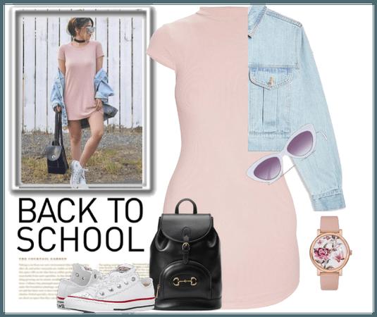back school girly girl
