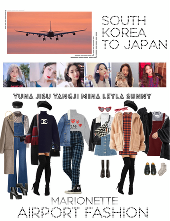 {MARIONETTE} Airport Fashion 2018