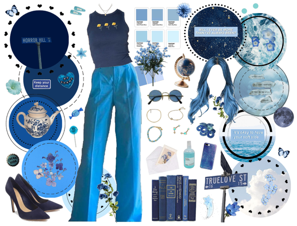 blue among the elements
