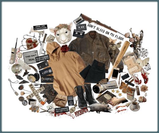 Pocket full of posy // horror oc