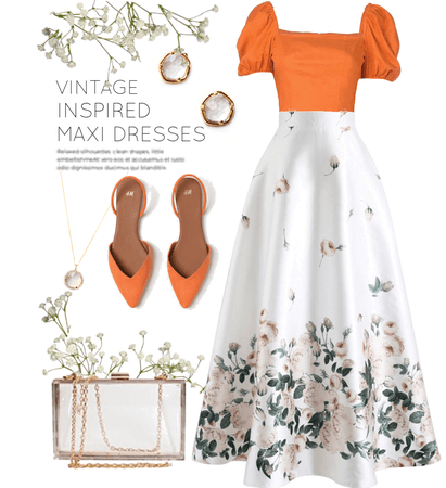 Vintage Inspired : Summer Maxi Dresses